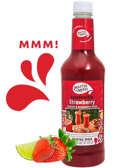 Strawberry Daiquiri Margarita Mixer Master Of Mixes
